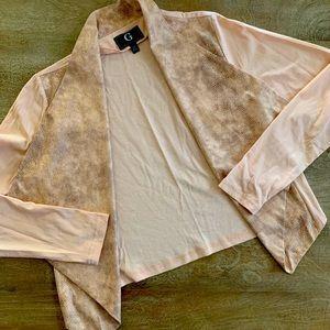 G by Guiliana Women's open drape cardigan